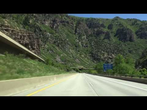 13-12 Rocky Mountains #6: I-70 Glenwood Canyon