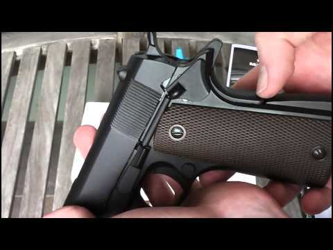 KJW M1911 Airsoft Gun Review (CO2 Version)