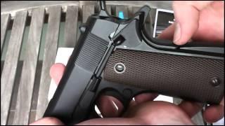 kJW M1911 Airsoft Gun Review (CO2 Version)