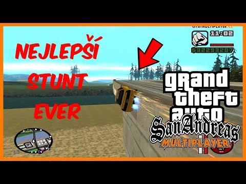 UNIKÁTNÍ STUNTY + SOUTĚŽ O 50 CZK! (GTA San Andreas Multiplayer #48)