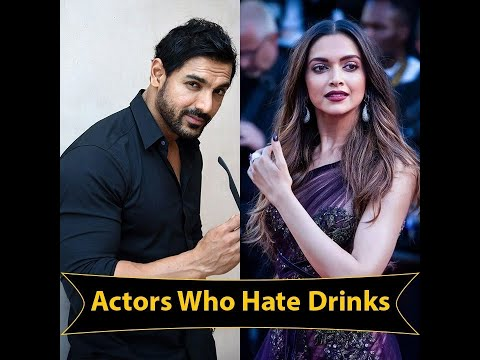 Bollywood Actors Who Don't Smoke And Drink