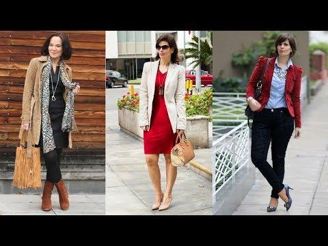 Como Vestir A Los 50 Y 60 Años / COMBINACIONES DE MODA Para Señoras / Fahsion Love