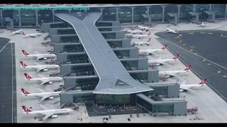 İstanbul Havalimanı / Istanbul Airport Havadan Görüntülendi