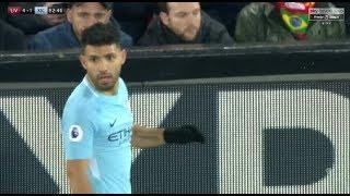 Sergio Aguero vs Liverpool 1412018 Away