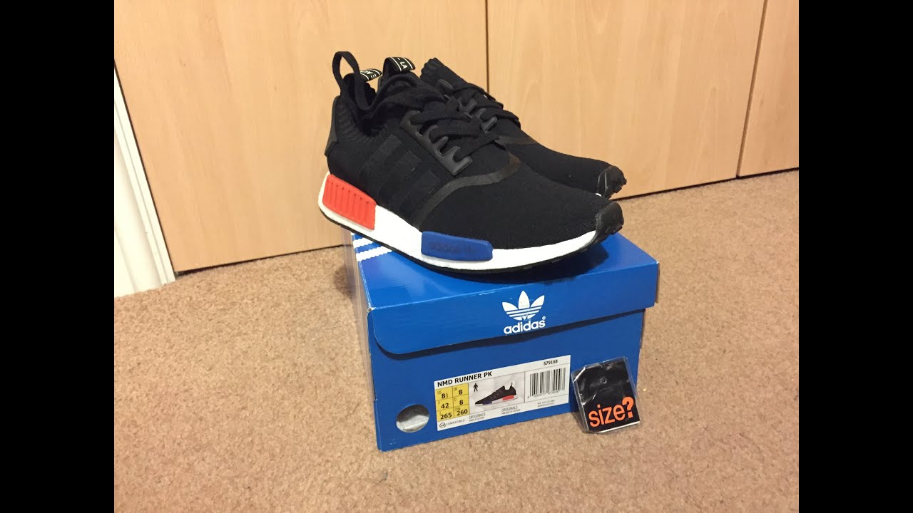 Adidas NMD R1 Primeknit Tri Color Sneaker Finders Osloveien Bil AS