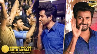 Sivakarthikeyan's Super Mass Heroic Entry!! SK Fans show him Super Love!!