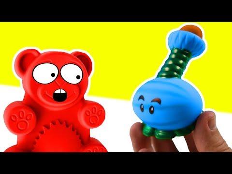 Die Challenge gegen Lucky Bär. Wer wird gewinnen?