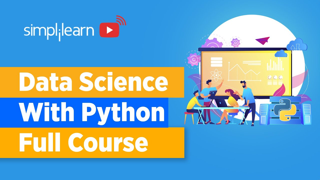 Data Science With Python Full Course   Learn Data Science With Python   Data Science