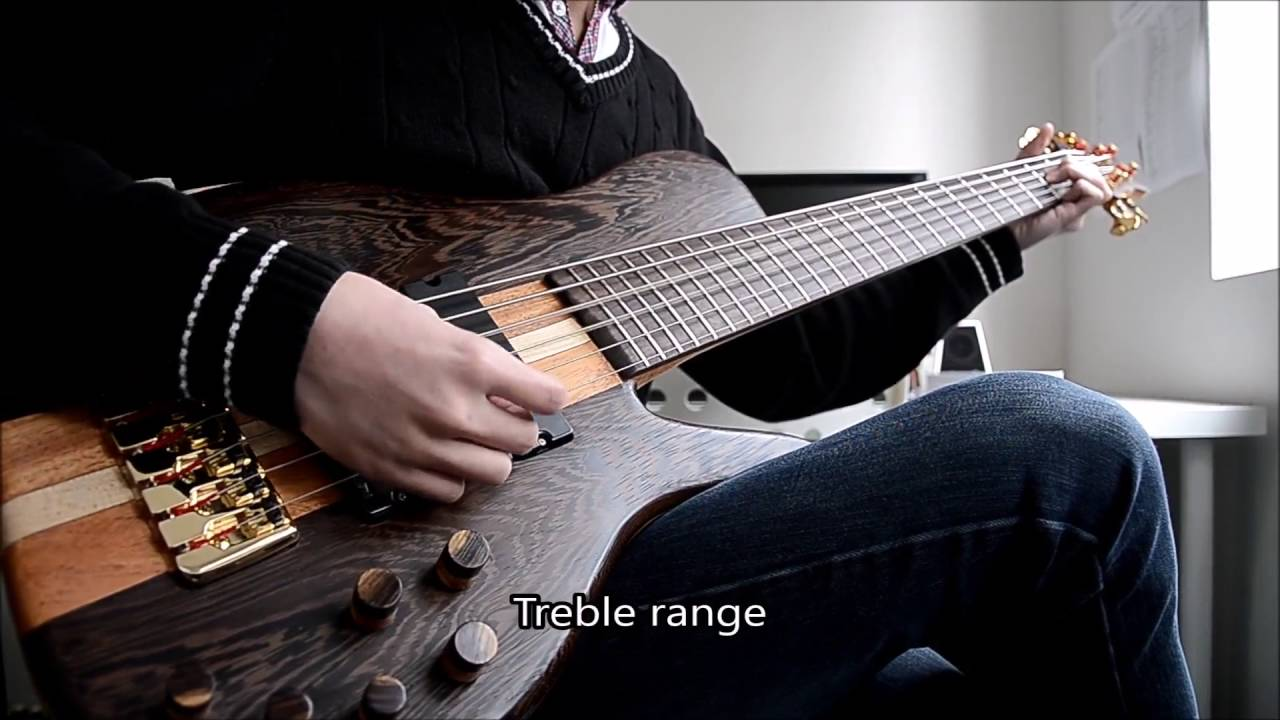 6 string neck through single cut bass demo wilkinson soapbars mings preamp youtube. Black Bedroom Furniture Sets. Home Design Ideas