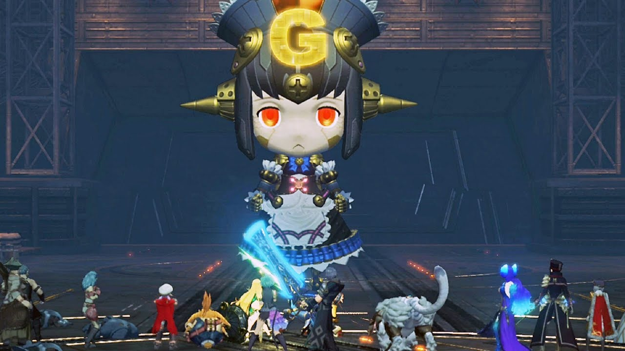 Xenoblade 2 - Giga Rosa Boss Fight #20