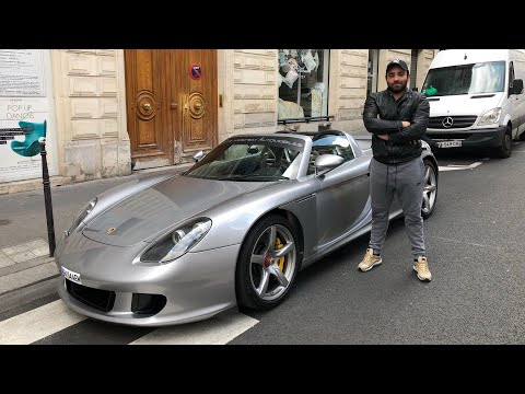 J'ai pas osé conduire la Porsche Carrera GT !
