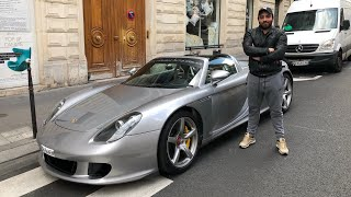 J'ai pas osé conduire la Porsche Carrera GT ! thumbnail