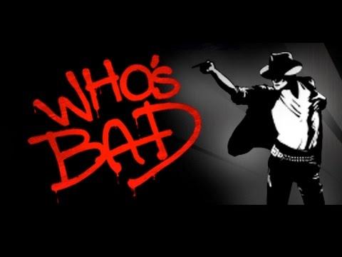 WHOS BAD- Michael Jackson Impersonation -- BAD TOUR