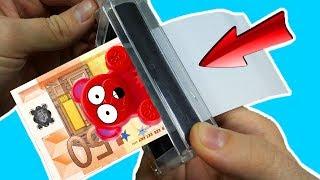 Lucky Bär hat einen Weg gefunden selber Geld zu drucken!