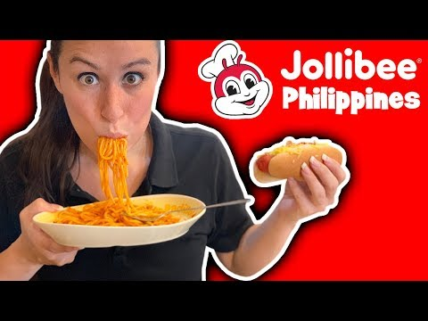 AMERICANS EAT Jollibee in the Philippines