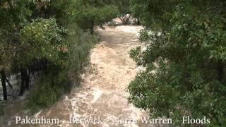 Floods Narre Warren Pakenham Berwick