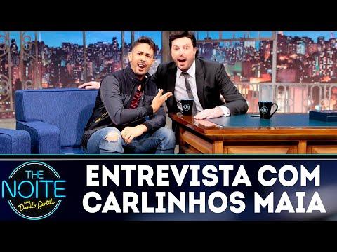 Entrevista com Carlinhos Maia  The Noite 200918
