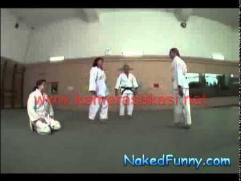 Karate Dersinde Komik şaka   Komik şakalar  Kamera şakaları  Kamera şakası  Komik Videolar