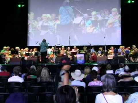Ukulele Groups of Island Bazaar - Performance at Orange County Fair