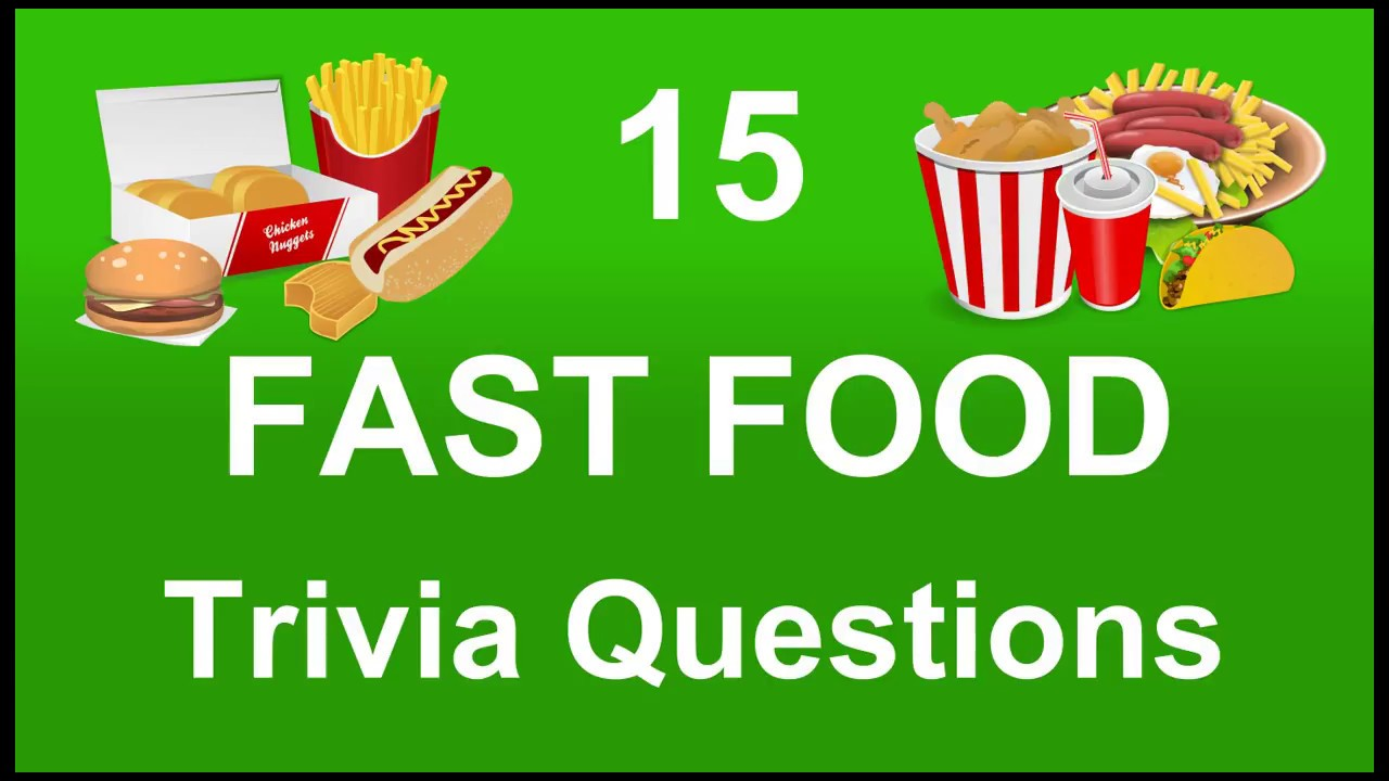 It's just an image of Crazy Food Trivia Questions and Answers Printable