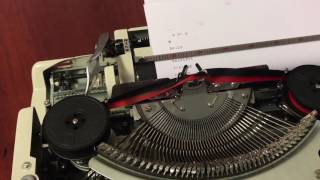 Brother Deluxe 900 Typewriter Ribbon Feed Issue