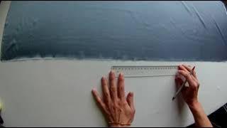 Ламбрекен своими руками, сваг, перекид, кокилье. Урок 3