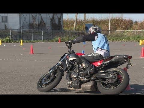2017 11 12 MSGC Moto Gymkhana とものりーた 選手 MT-07