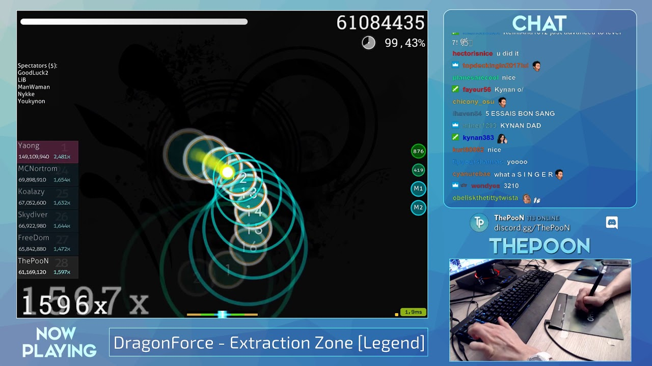 Thepoon Dragonforce Extraction Zone Legend Fc 99 60 569pp 1 Livestream Youtube
