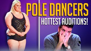 10 SEXY Pole Dancing Auditions on Got Talent