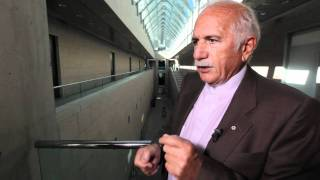 """Tour of the National Gallery of Canada with Moshe Safdie  """"The Ventilation"""""""