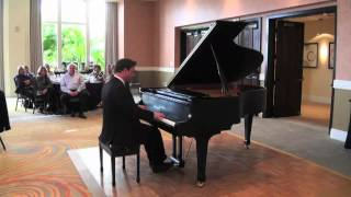 Johann Strauss Waltz Medley played by amateur pianist Glenn Kramer