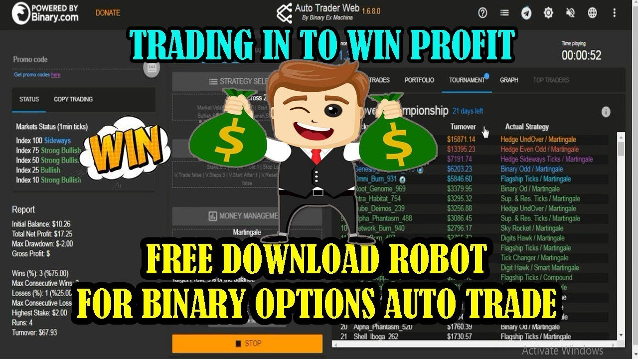 Compound trade auto binary options trading 3et betting calculator