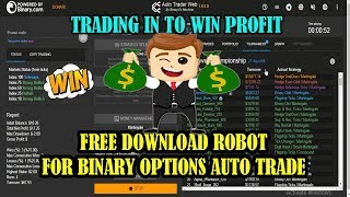 FREE ROBOT FOR BINARY OPTIONS AUTO TRADE | SUGGESTED STRATEGIES TO GET PROFIT EVERY DAY