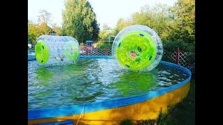 Последнее воскресенье лета возле фонтана