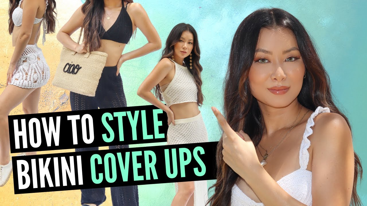 How to Style Cover Ups 👙 (Try On & Where to Buy)