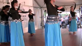 Water – Indian fusion dance at Cleveland Asian Festival