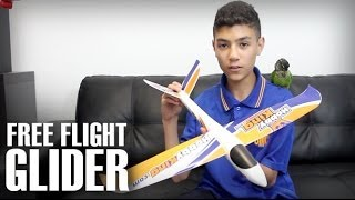 Hk Free Flight Glider - Rc Conversion Project - Unbox