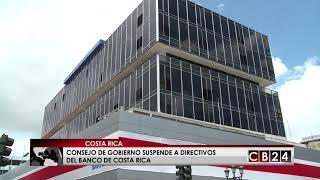 Video Consejo de Gobierno suspende a directivos del Banco de Costa Rica download MP3, 3GP, MP4, WEBM, AVI, FLV Juni 2018