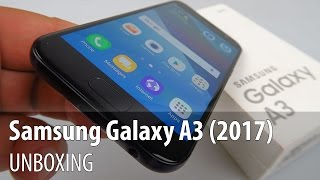Samsung Galaxy A3 (2017) Unboxing (Midrange 4.7 inch Samsung phone)