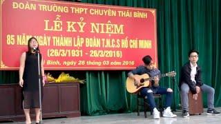 Chung Kết CTB's Got Talent 2016 - Tiết Mục Hát - Hương Giang (guitar Việt Hoàng - cajon Nam Long)