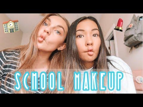high school makeup routine : freshman