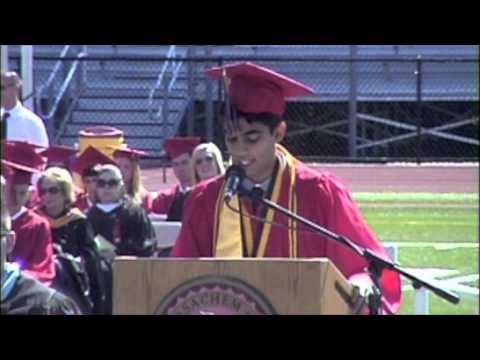 Anmol Gupta  Valedictorian speech at Sachem East Graduation 2014