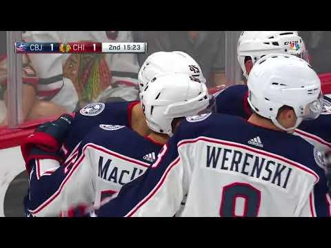 Columbus Blue Jackets vs Chicago Blackhawks - September 23, 2017 | Game Highlights | NHL 2017/18