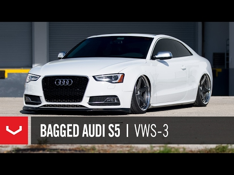 "Audi S5   ""Alfonso Rides Low""   Vossen x Work VWS-3"
