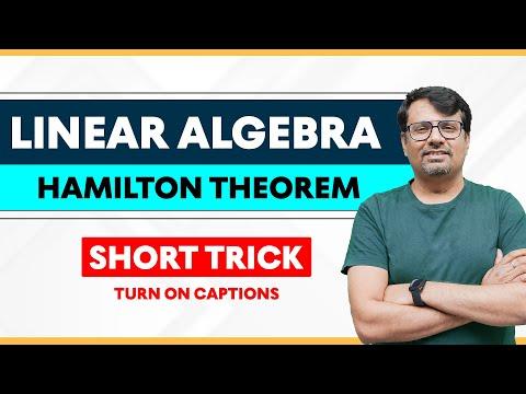 Matrix Cayley Hamilton Theorem | Math Short Tricks 2018 | Lecture-IV by GP Sir