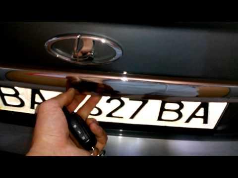 Кнопка багажника приора