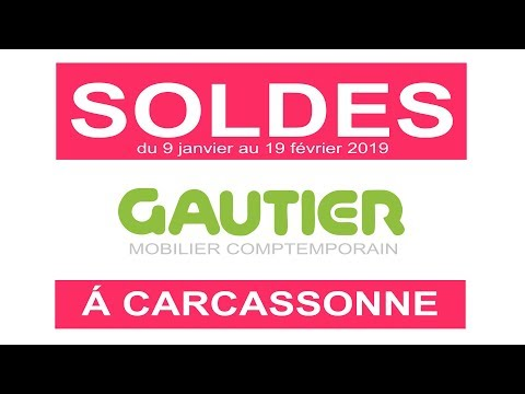 Soldes Gautier Carcassonne Youtube