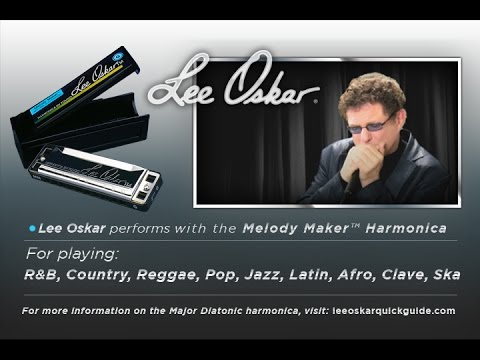 Lee Oskar Demonstrates - The Melody Maker Harmonica