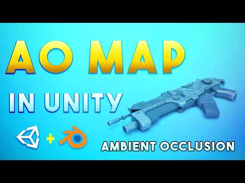 AO Map In Unity |  Ambient Occlusion