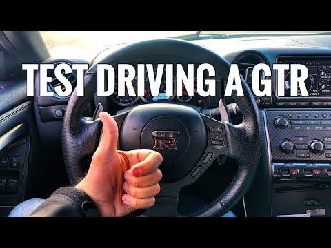 🏎💨 TEST DRIVING A GTR R35 | EPISODE 037